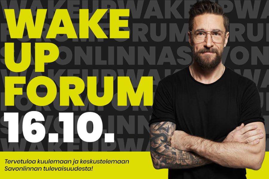 Wake Up forum 16.10.2018