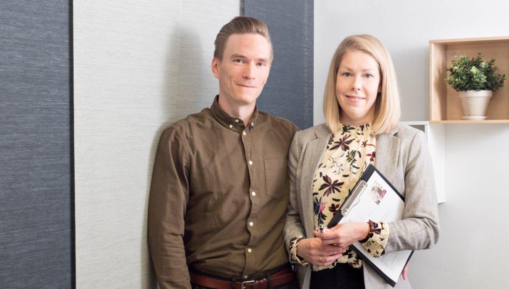Pariskunta havaitsi markkinaraon ja perusti henkilöstöalan yrityksen Savonlinnaan